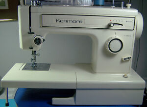 KENMORE PORTABLE STRAIGHT ZIGZAG STITCH SEWING MACHINE FREE ARM