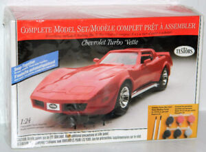 Testors 1/24 Chevrolet Turbo 'Vette Snap-Together Plastic Kit