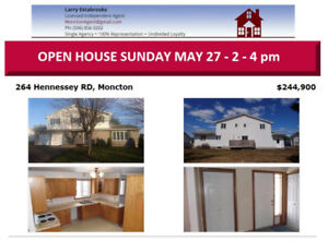OPEN HOUSE SUNDAY MAY 27  / 14:00 TO 16:00