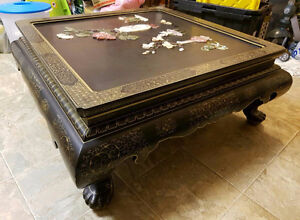 Chinese Antique Coffee Table Furniture - $388 (New Westminster)