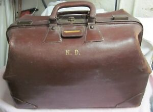 Vintage Antique Doctor's Bag