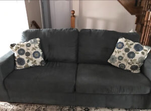 2 sofas and accent chair