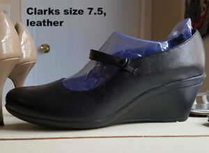 Clarks shoes (7.5) - Never Worn - Reduced