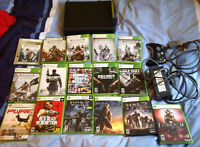 Xbox 360 120GB HDD et 16 jeux/ and 16 games