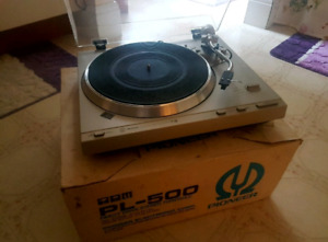 Pioneer pl500 Turntable ...