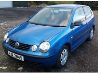 2003 Vw polo 1.2 petrol 3 door