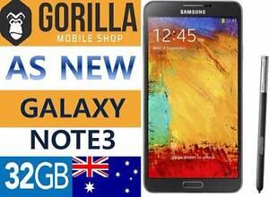 GALAXY NOTE 3 AS NEW CONDITOON.UNLCOEKD.3MONTH WARRANTY Strathfield Strathfield Area Preview