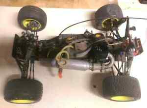 RC nitro lot tons of spare parts and accessories