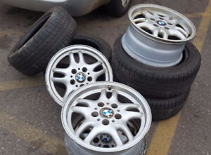 BMW rims and all season tires