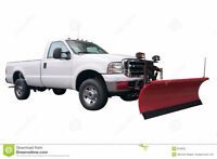 snow plowing and removal services