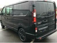 New Renault Trafic LWB Black Edition Crew Vans, due for late April delivery