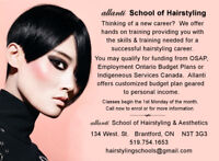 Hairstyling and Aesthetics Programs