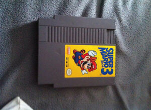 super mario bros 3 for nes 35$ obo