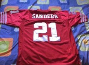 San Francisco 49ers Deion Sanders Football Jersey!