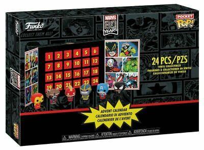 Pocket POP! Calendario Adviento: Marvel: 24 piezas coleccionables