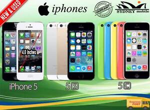 FOR SALE NEW &USED IPHONE 5 5S 5C UNLOCKED WITH WARRANTY Sydney Region Preview