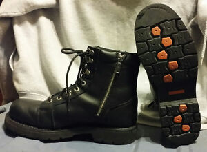 Harley Davidson lace-up leather boots Peterborough Peterborough Area image 2