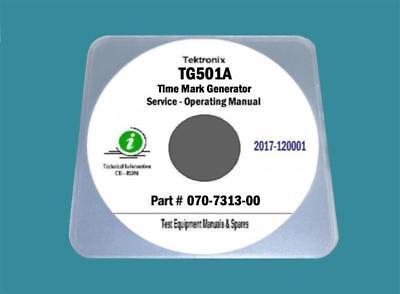 Tektronix Tg501a Timing Generator Service Operating Manual 25x11 Diagrams