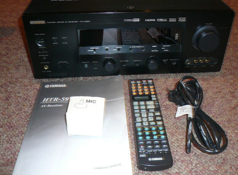 YAMAHA HTR-5990 7.1 Surround  Sound Fantastic Receiver