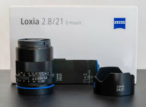 Zeiss Loxia 21mm f/2.8 pour Sony-E