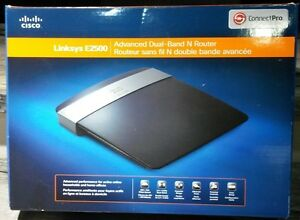 Linksys E2500 Advanced dual band N Router