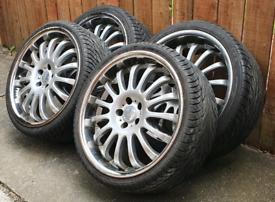 5x114.3 Team Dynamics 20 inch alloy wheels