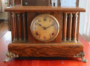 Gilbert 8-day Mantel Clock Time and Strike