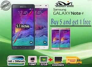 Good condition Galaxy Note 4 32gb 3G unlocked Sydney City Inner Sydney Preview