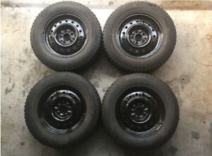 Four Champiro Winter Tires 215/70/16
