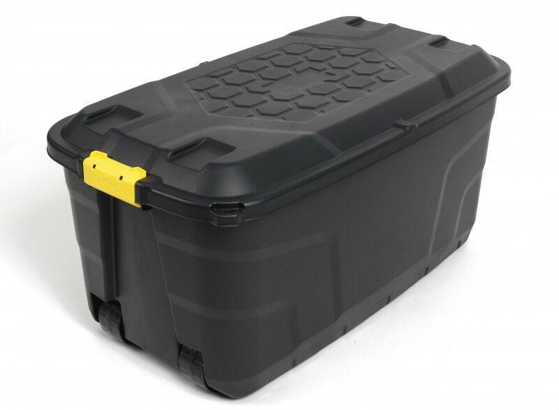 XXL Transportbox Lagerbox Rollbox Kissenbox Gartenbox Werkzeugbox Kiste 145 Ltr