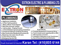 Licensed Plumber, Dripping Faucets, Mixing valve replacement