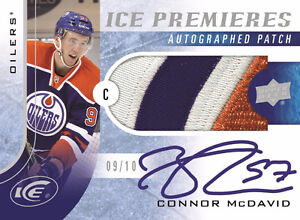 BRAND NEW UPPER DECK ICE | CONNOR MCDAVID ROOKIE CARD!