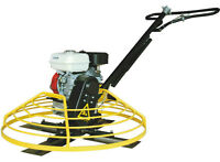 "Brand New 36"" Power Trowel, Honda GX 270 engine"