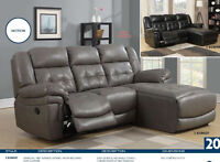 Sofa Lounger inclinable Neuf pour 999 $  TPS incluse