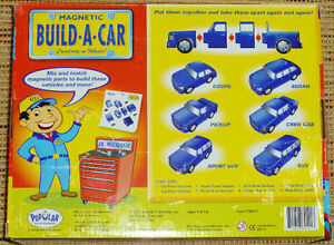 ✪ POPULAR PLAYTHINGS - Magnetic Build-A-Car in Box Oakville / Halton Region Toronto (GTA) image 6