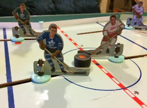 Vintage NHL Table Hockey Game - Original 6 Era Collectible