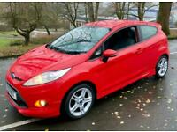 2011 Ford Fiesta ZETEC S TDCI 1600 1OWNER SINCE 2014 WITH 11 STAMPS PRISTINELY P