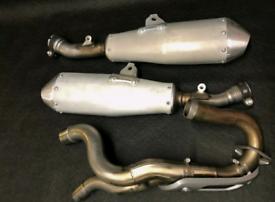Honda crf 2020 twin exhaust