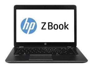 HP ZBook 14 Mobile Workstation - Core i7 4600U 2.1GHz - 16GB  240GB SSD AMD FIRE PRO M4100 - G5G42UC#ABA