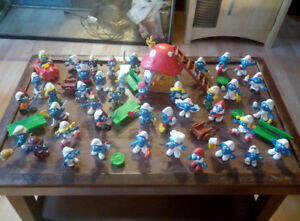 Schtroumpfs lot de 41 Figurines vintage