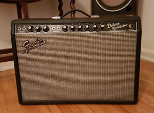 Fender '65 Deluxe Reverb Reissue with cover