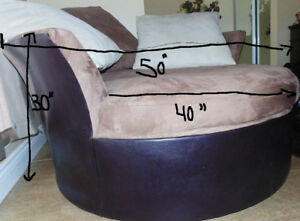 Sofa rond, round sofa
