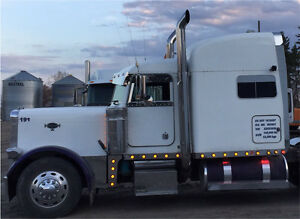"Peterbilt 4"" drop panels with LED lights"