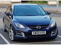 2010 MAZDA 6 2.0L TAMURA, 1 P OWNER Reliable, Beautiful, Economical NOT Vauxhall Insignia, Volvo S40