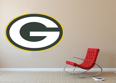 Green Bay Packers NFL Football Team Wall Decal Decor For Home Laptop Sports ()