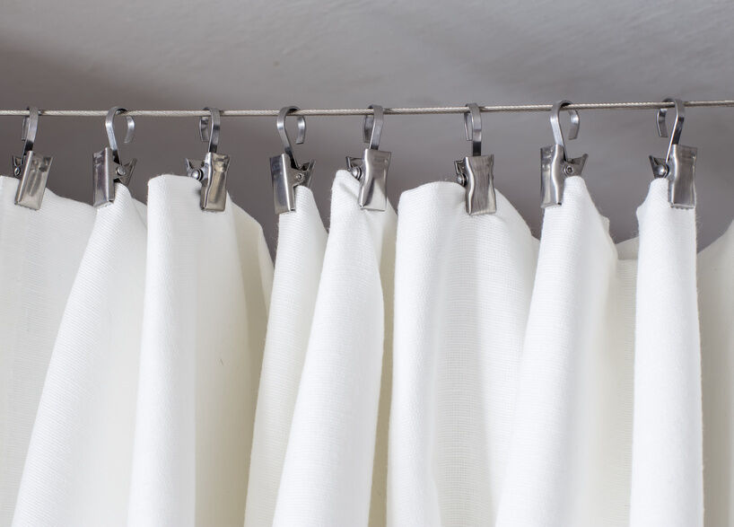 How To Make DIY Curtain Rods And Holders