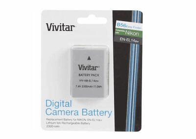 Vivitar EN-EL14 Rechargable Li-ion Battery for P7000,P7100,D3100,D5100 for sale  Shipping to India