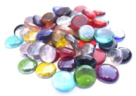 100 glass pebbles