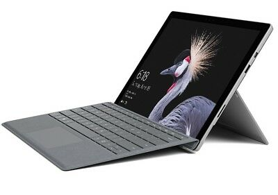 Microsoft Surface Pro (5) 12,3 Zoll 128GB SSD Windows 10 Pro Tablet QWERTZ (10 Zoll Surface Pro 3)