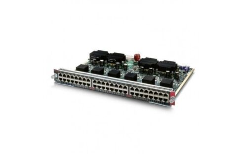 Cisco Ws-x4548-gb-rj45v 48 Ports Catalyst 4500 Poe Ieee 802.3af 10/100/1000